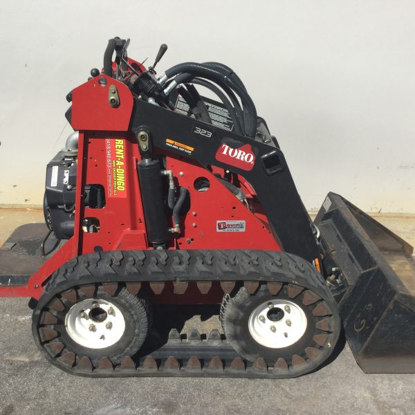 toro track machine