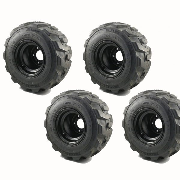 dingo mini loader lug tyre & rim combo