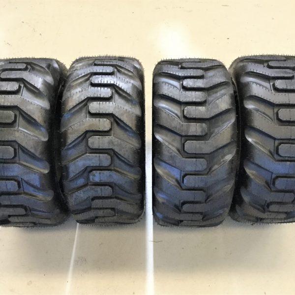 4 x dingo tyres 20 x 8 x 10 trelleborg t570